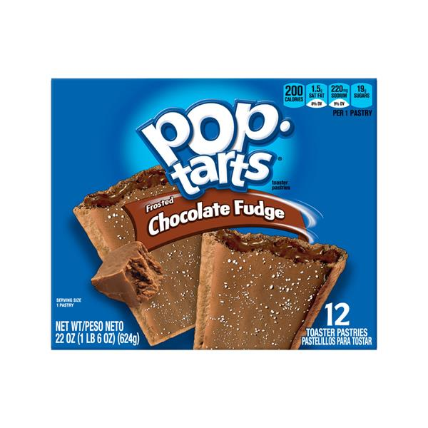 Kellogg's Pop-Tarts Frosted Chocolate Fudge Toaster Pastries 12Ct