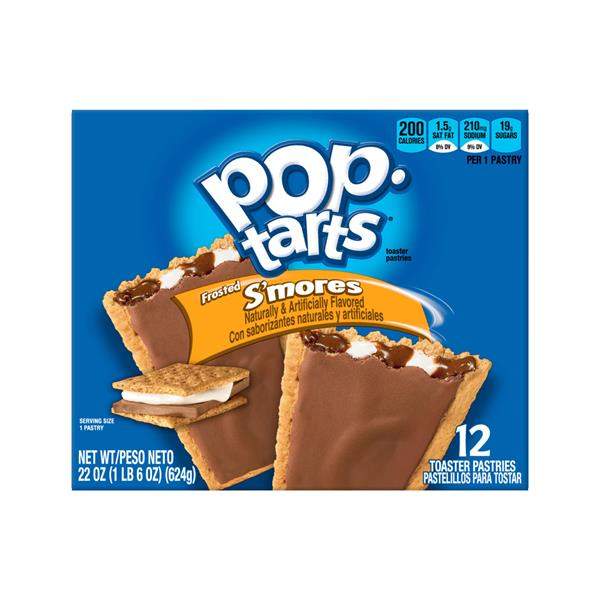 Kellogg's Pop-Tarts Frosted S'mores Toaster Pastries 12Ct