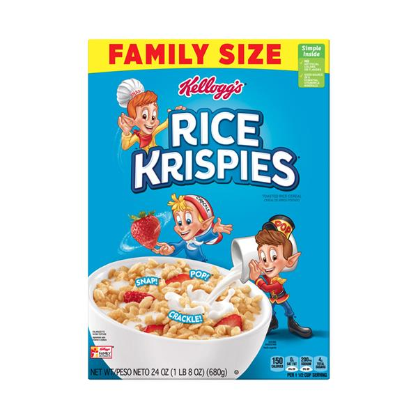 Kellogg's Rice Krispies Cereal Family Size