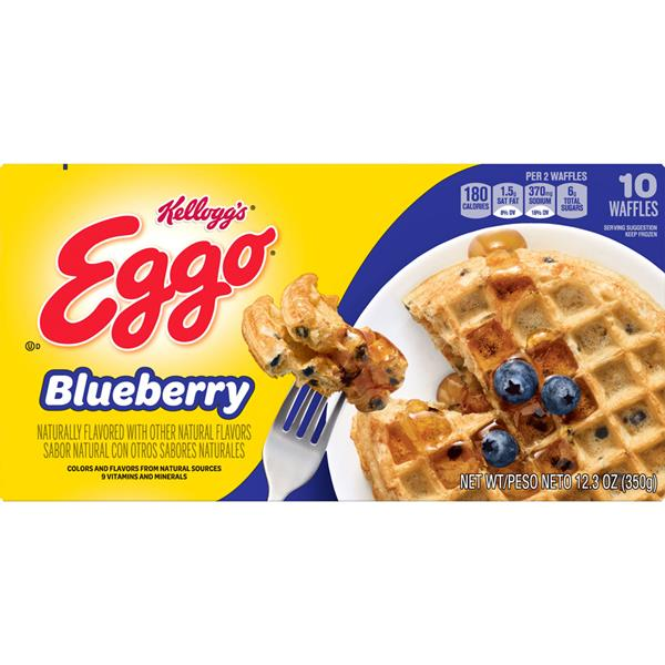 Kellogg's Eggo Blueberry Waffles 10 ct