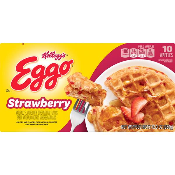 Kellogg's Eggo Strawberry Waffles 10 ct