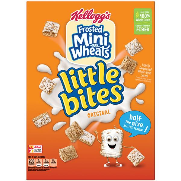 Kellogg\u0026#39;s Frosted Mini-Wheats Little Bites Original Cereal | Hy ...