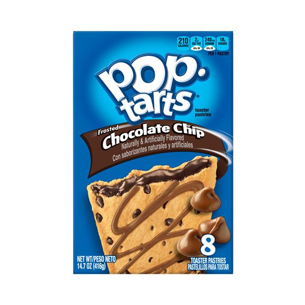 Kellogg's Pop-Tarts Frosted Chocolate Chip Toaster Pastries 8Ct