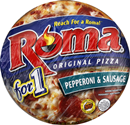 Roma Pizza for 1 Pepperoni & Sausage