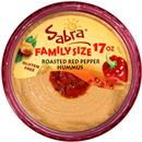 Sabra Roasted Red Pepper Hummus Family Size