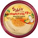 Sabra Roasted Garlic Hummus Family Size