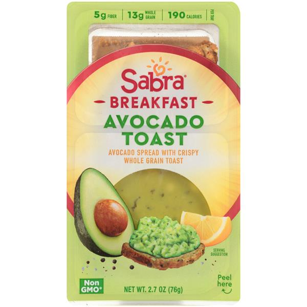 Sabra Breakfast Avocado Toast Avocado Spread