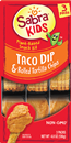 Sabra Dips Kids Taco Dip & Rolled Tortilla Chips Plant Based Snack Kit, 3Pk