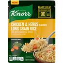 Knorr Chicken & Herbs Long Grain Rice, Ready to Heat