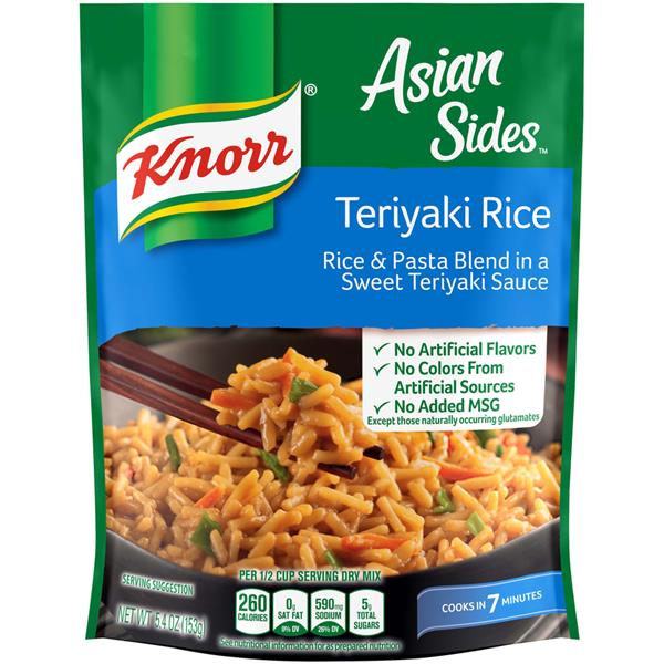 Knorr Asian Sides Teriyaki Rice