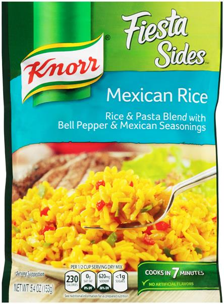 Knorr Fiesta Sides Mexican Rice Hy Vee Aisles Online