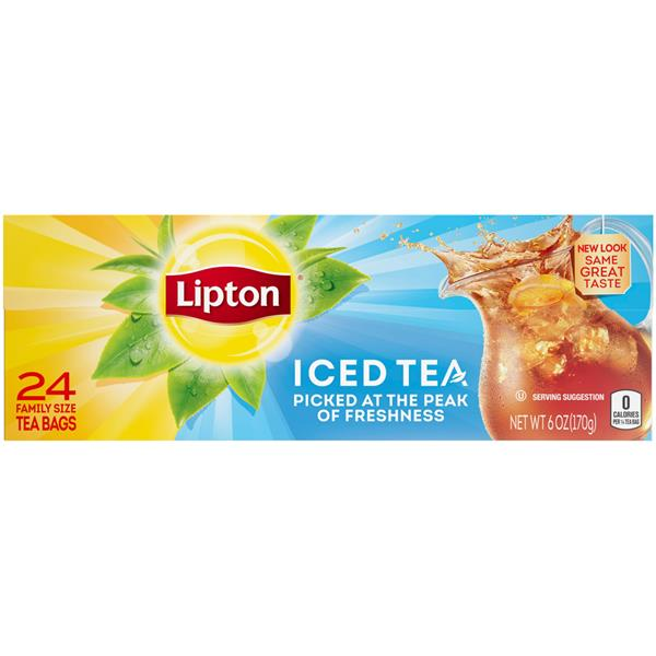 Lipton Iced Tea - 24Ct Family Size Bags