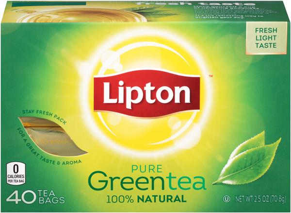 Thé Lipton Pure Green Tea