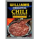 Williams No Salt Added Original Chili Seasoning