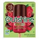 Outshine 1/2 Dipped In Dark Chocolate Raspberry Fruit Bars 5 Ct Box
