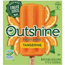 Outshine Fruit Bars Tangerine 6 Pk