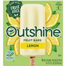 OUTSHINE Lemon Frozen Fruit Bars, 6 Ct. Box | Gluten Free | Non GMO