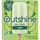 Outshine Fruit Bars, Lime 6Ct
