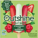 Outshine Fruit Bars, Strawberry, Wildberry, Lime  Variety Pack 12Ct