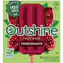 OUTSHINE Pomegranate Fruit Bars 6 ct Box