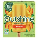 OUTSHINE Mango Fruit Ice Bars 6 ct Box