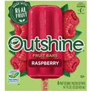 Outshine Fruit Bars Raspberry 6 Pk