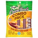 Frigo Cheese Heads Colby & Monterey Jack Cheese & Turkey Sticks 8 ct