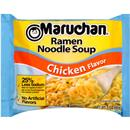 Maruchan 25% Less Sodium Chicken Flavor Ramen Noodle Soup
