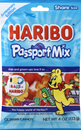 Haribo Passport Mix Gummi Candy Share Size
