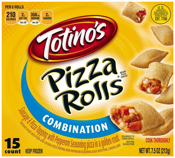 Totino's Combination Pizza Rolls 15Ct