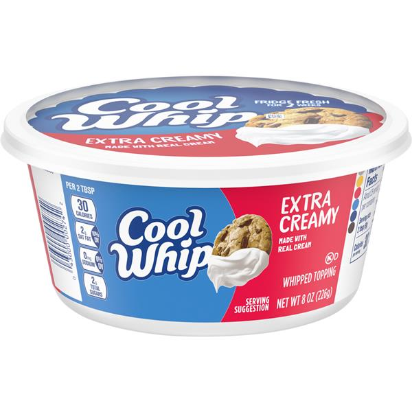 Kraft Cool Whip Extra Creamy Whipped Topping