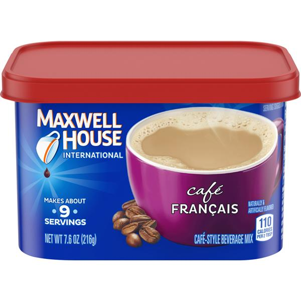 Maxwell House International Cafe Francais Cafe-Style Beverage Mix