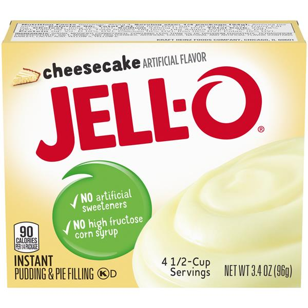 Jell-O Cheesecake Instant Pudding & Pie Filling Mix