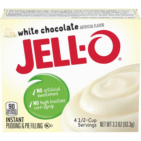 Jell-O White Chocolate Instant Pudding & Pie Filling