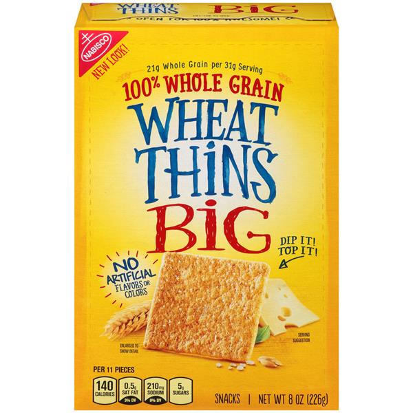 Nabisco Wheat Thins Big