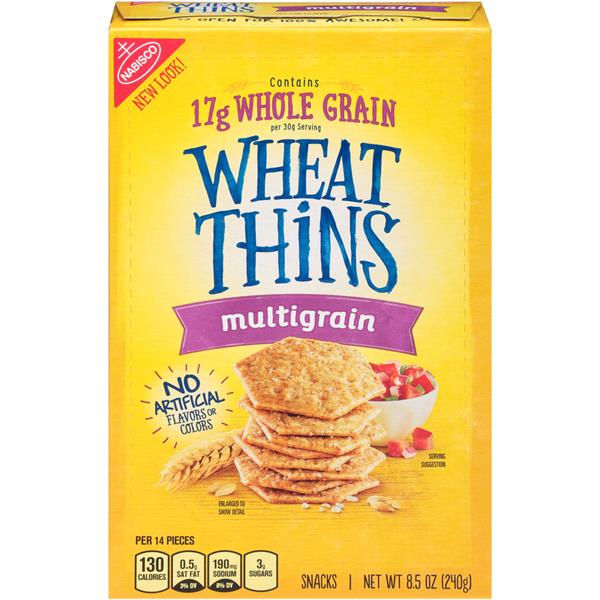 Nabisco Wheat Thins Multigrain