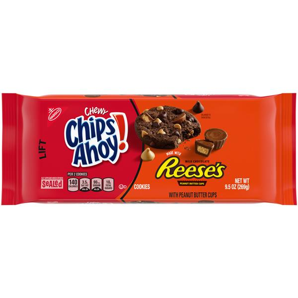 Nabisco Chips Ahoy! Chewy Chocolate Reese's Chocolate Chip Cookie