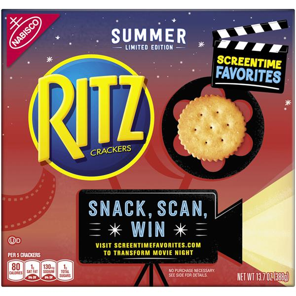 Nabisco Ritz Summer Limited Edition