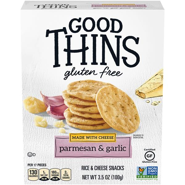 Nabisco Good Thins The Cheese One Parmesan & Garlic Rice & Cheese Snacks