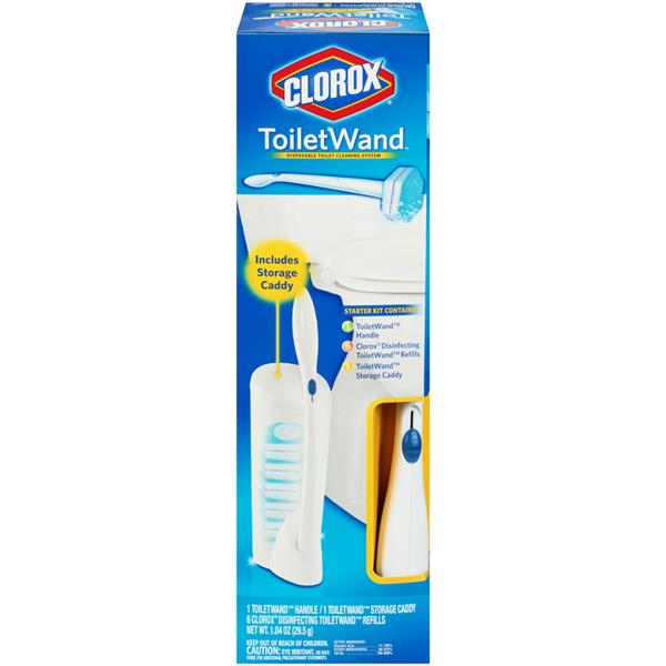 Clorox Toilet Wand Disposable Toilet Cleaning System