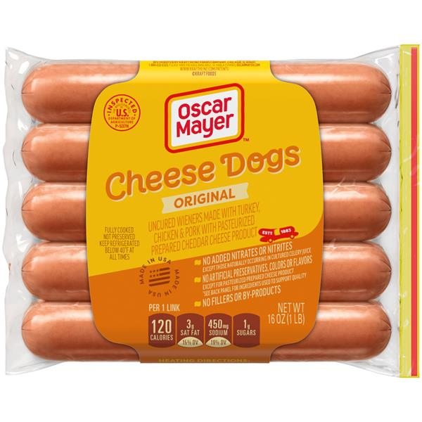 Oscar Mayer Cheese Dogs 10 Count