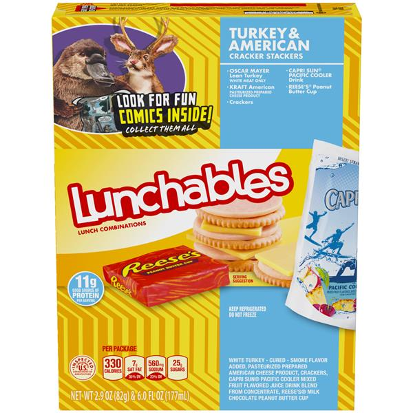 Lunchables Uploaded Nutrition Information on oscar mayer bacon nutrition information