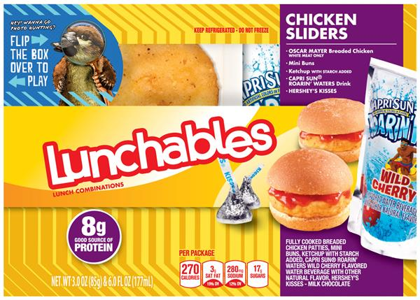 Lunchables Chicken Lunchables Chicken Sliders