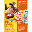 Lunchables Extra Cheesy Pizza Lunch Combination With Capri Sun Pacific Cooler Drink