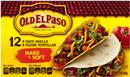 Old El Paso 6 Hard Taco Shells & 6 Soft Flour Tortillas 12Ct