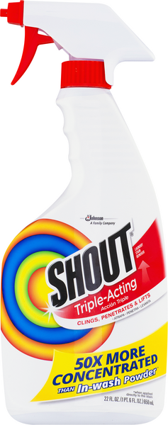 Shout Shout Triple-Acting Laundry Stain Remover