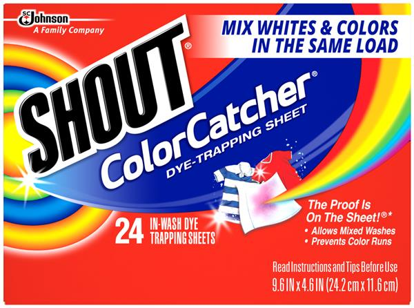 Shout Color Catcher In-Wash Dye Trapping Sheets | Hy-Vee Aisles ...