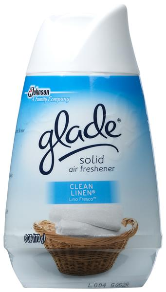 Glade Solid Clean Linen Air Freshener