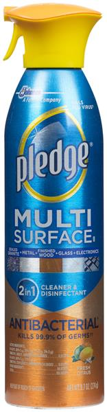 Pledge Multi Surface Fresh Citrus Antibacterial Everyday Cleaner