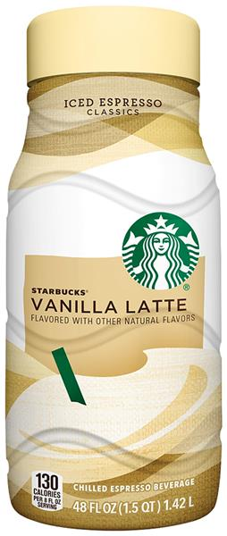 Vanilla Latte Starbucks Nutrition